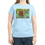 Irises & Ruby Cavalier Women's Light T-Shirt