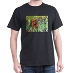 Irises & Ruby Cavalier Dark T-Shirt