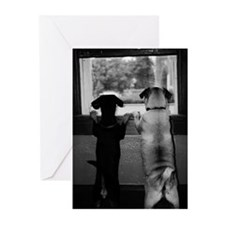 Nothing Butt Cute BW Greeting Cards (Pk of 10)