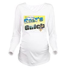Greetings Long Sleeve Maternity T-Shirt