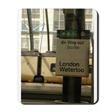 Cute London travel Mousepad