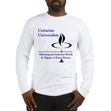 Affirming Worth & Dignity Long Sleeve T-Shirt