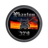 Phantom 379 Wall Clock