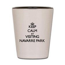Navarre florida Shot Glass