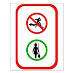 No Fly Zone Small Poster