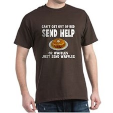 Waffles send help T-Shirt