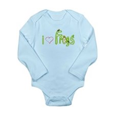 i heart frogs Body Suit