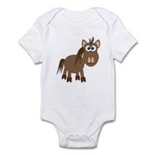 Gookfins Silly Little Horse/Pony Infant Bodysuit