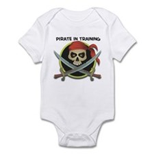 pirate in training Infant Bodysuit
