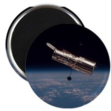 Space Christmas Gift Magnet Hubble Space Telescope