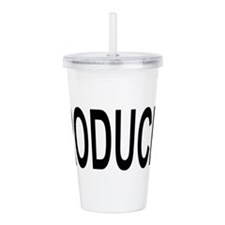 Producer Acrylic Double-wall Tumbler