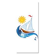 Sailboat Ocean and Sun Invitations