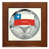 Chile Football Framed Tile