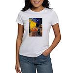 Cafe & Schipperke Women's T-Shirt