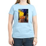 Cafe & Schipperke Women's Light T-Shirt