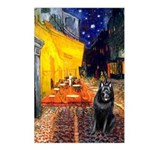 Cafe & Schipperke Postcards (Package of 8)