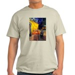 Cafe & Schipperke Light T-Shirt