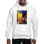 Cafe & Schipperke Hooded Sweatshirt