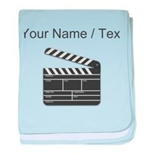 Custom Movie Director Cut Board baby blanket