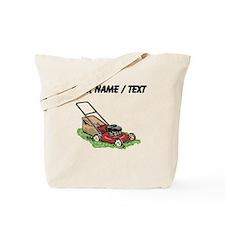 Custom Lawnmower Tote Bag
