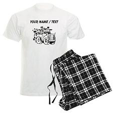 Custom Garbage Truck Pajamas