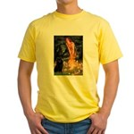 Fairies & Schipperke Yellow T-Shirt