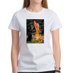 Fairies & Schipperke Women's T-Shirt