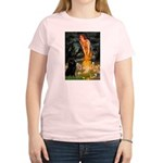 Fairies & Schipperke Women's Light T-Shirt