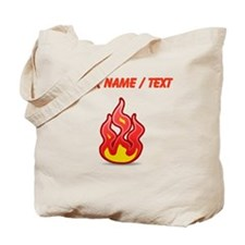Custom Flames Tote Bag
