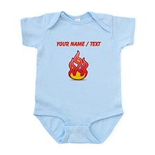 Custom Flames Body Suit