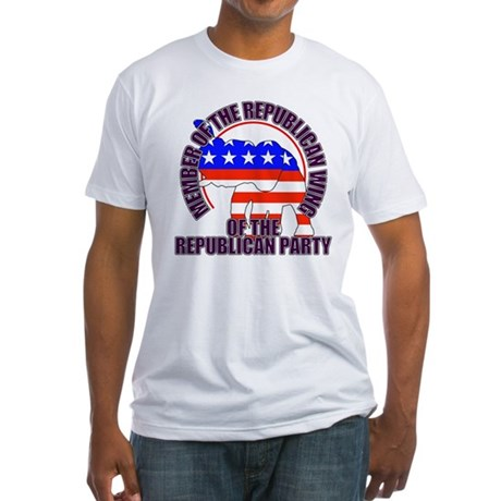 Republican Wing of the GOP Fitted T-Shirt