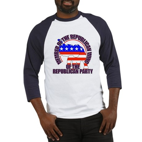 Republican Wing of the GOP Baseball Jersey