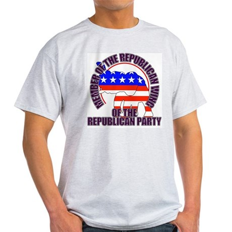 Republican Wing of the GOP Ash Grey T-Shirt