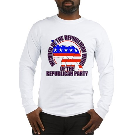Republican Wing of the GOP Long Sleeve T-Shirt