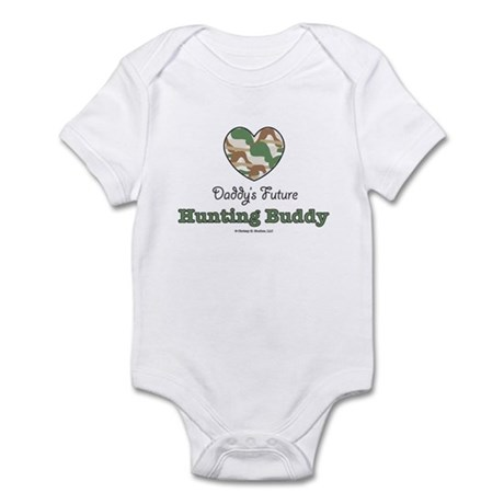 Daddy's Future Hunting Buddy Infant Bodysuit