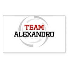 Alexandro Rectangle Decal