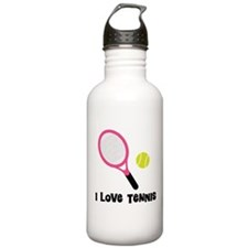 I Love Tennis Water Bottle