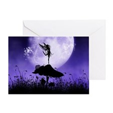 Fairy Silhouette 2 Greeting Cards