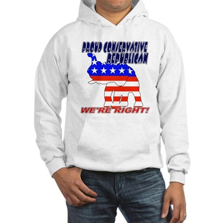 Conservative Republican GOP Hooded Sweatshirt