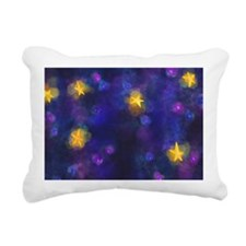 Unique Moon and stars Rectangular Canvas Pillow