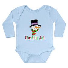Glaedelig Jul Snowman Child Body Suit
