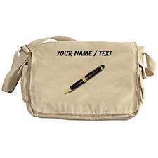 Custom Pen Messenger Bag