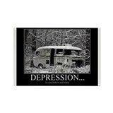 depression Rectangle Magnet