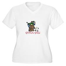 Goalie Girl Plus Size T-Shirt