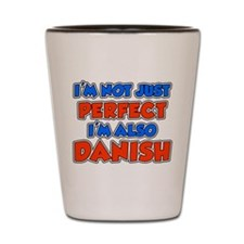 Not Just Perfect Danish Shot Glass