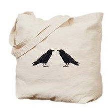 Crow Pair Tote Bag