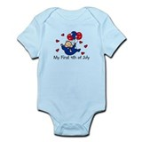 1st 4th of July Boy Baby/Toddler bodysuits