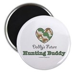 Daddy's Future Hunting Buddy Magnet