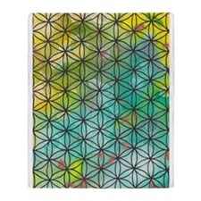 Sacred Geometry Throw Blanket