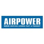Air Force Airpower Bumper Sticker